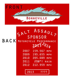 Bonneville Tshirt red